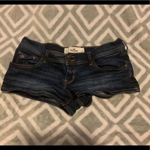 Hollister Jean Low-rise Short Shorts Size 7